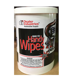 HANDY CLEANING WIPERS DI 90CT