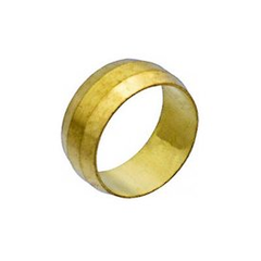 BRASS COMPRESSION SLEEVE 1/4