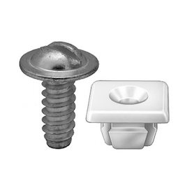 1/4 LP NUT AND SCREW 25BX