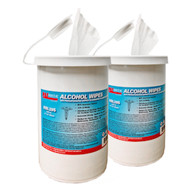 ALCOHOL WIPES 150 CANISTER